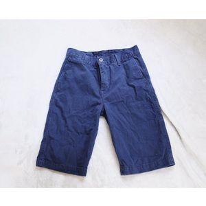 Navy Blue Levi's Boys Khaki Shorts 26 NWOT
